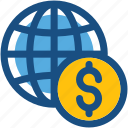 economy, exchange rate, finance, financial, global finance icon