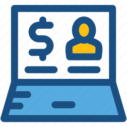 commerce, e commerce, online business, online earning, online work icon
