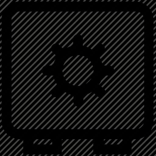 Bank, finance, lock, money, safe, security, vault icon - Download on Iconfinder