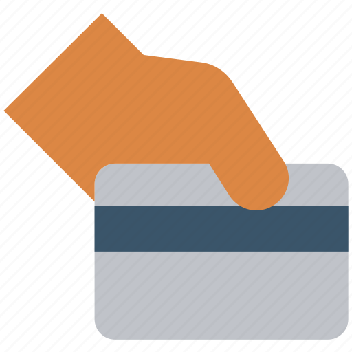 atm card, business, card, credit card, hand, method, payment icon