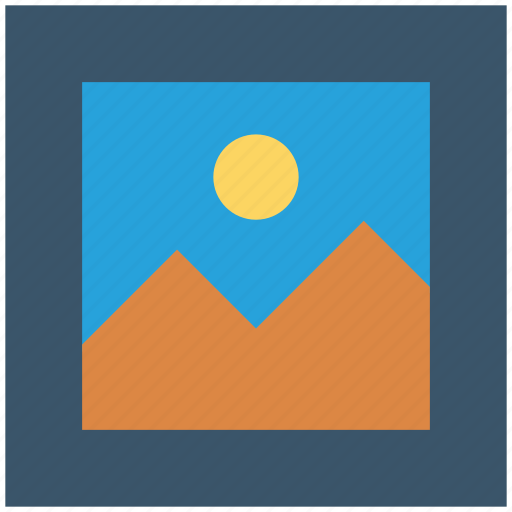 frame, image, landscape, photo, picture icon