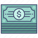 cash, finance, investment, money icon