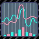 finance, market, share, stock icon