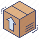 box, cargo, delivery, product icon