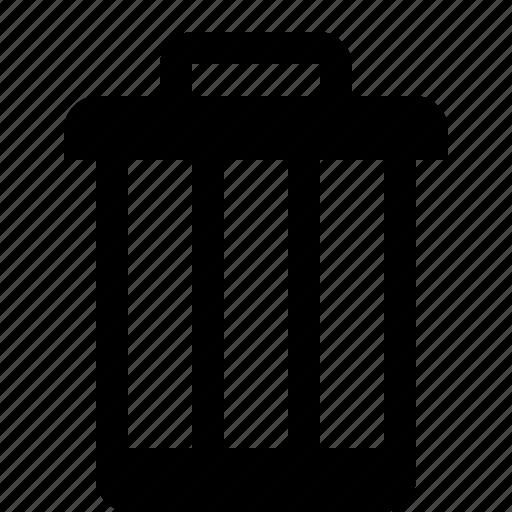 bin, close, delete, exit, garbage, remove, trash icon