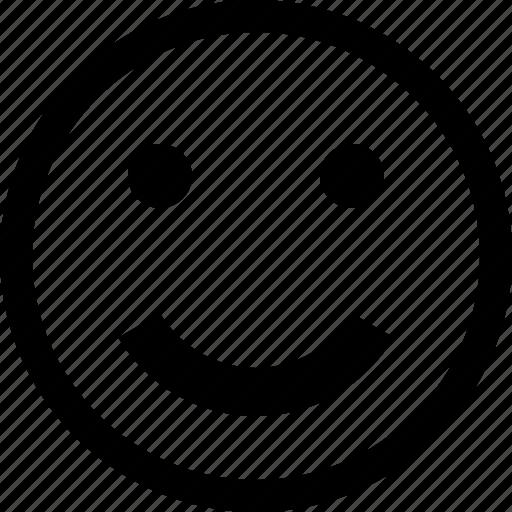 emoji, emoticons, face, feeling, happy, love, smile icon