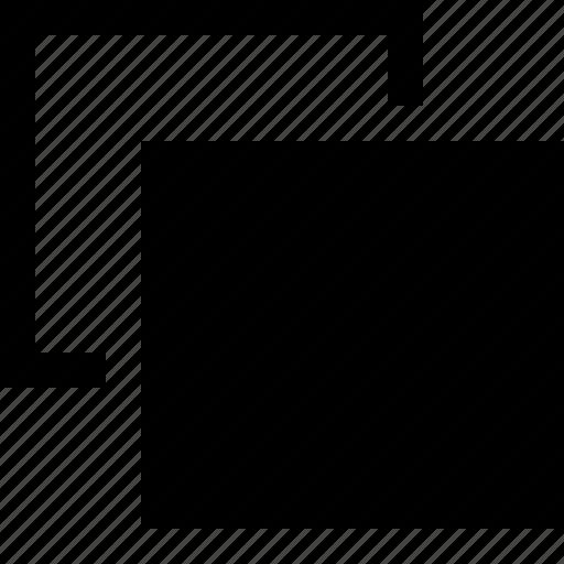 add, copy, duplicate, inverse, invert, new, window icon
