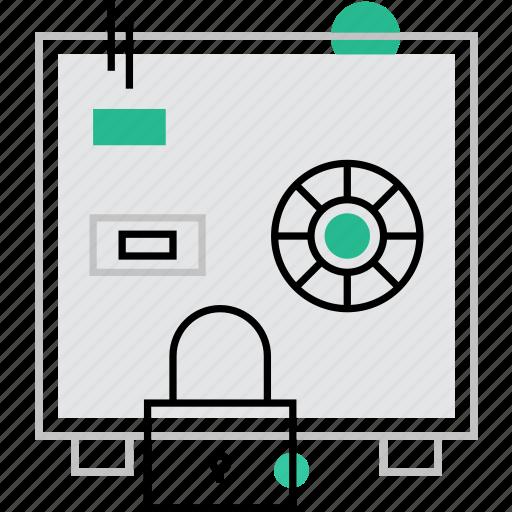 box, deposit, protection, safe, saving, secure, strongbox icon