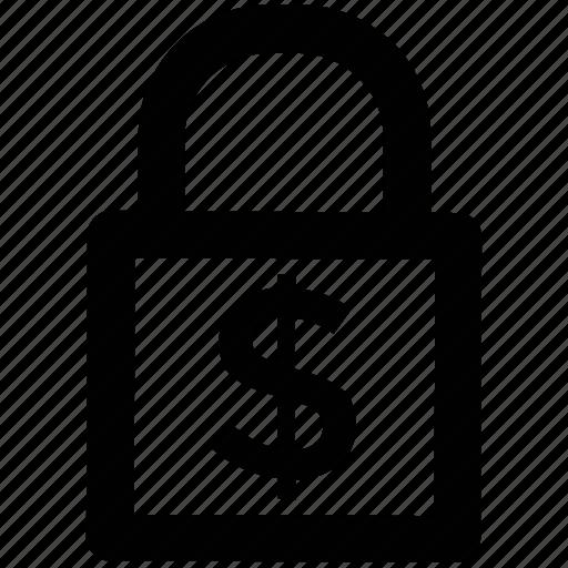 cash safety, lock, money lock, padlock, privacy, security icon