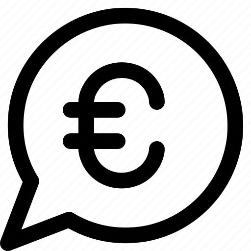 business, euro, money, payment icon