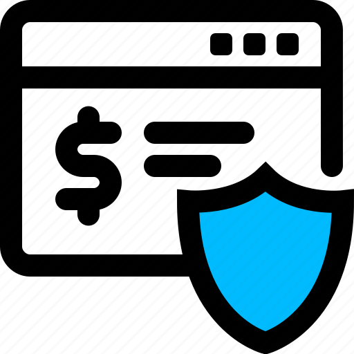 banking, online, secure, security icon