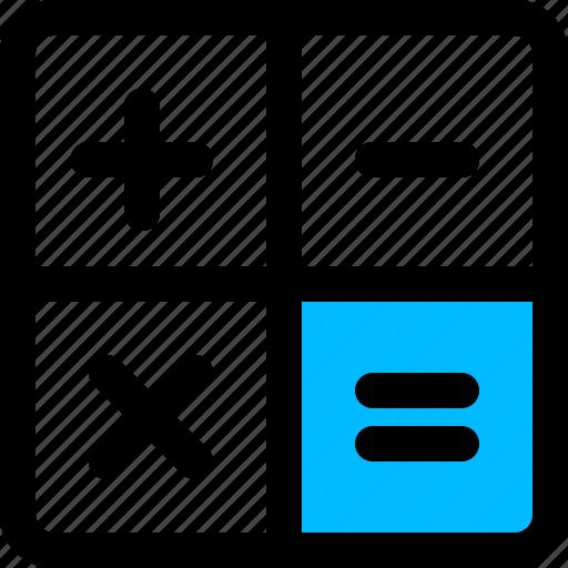 accounting, calculator, finance icon