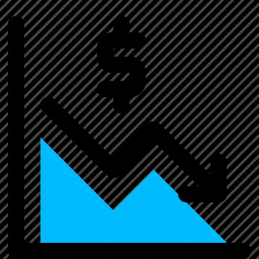 dollar, finance, growth, sales icon