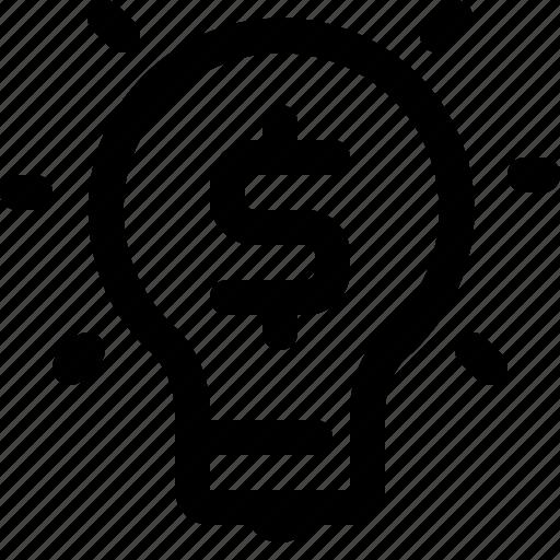 business, idea, investment, money icon