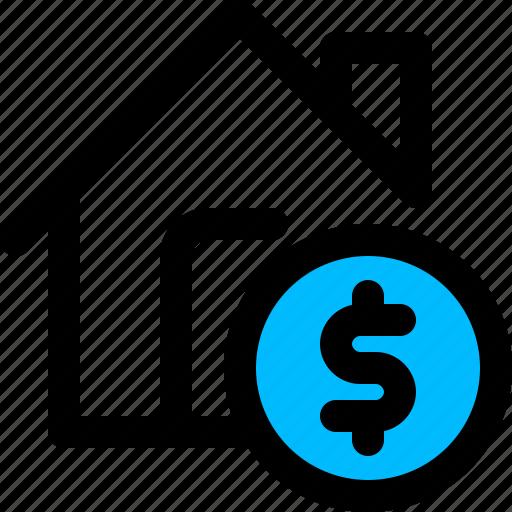 finance, home, house, loan icon