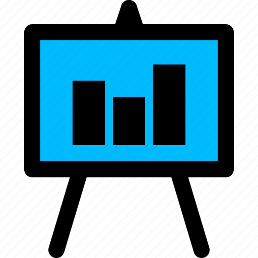 business, finance, market, presentation icon