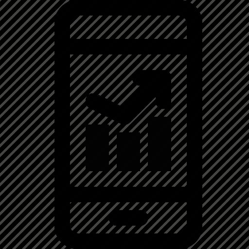 Analysis, analytics, data, mobile icon - Download on Iconfinder