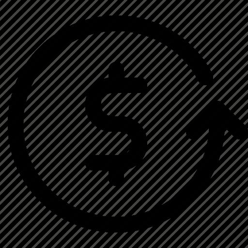 profit, return, revenue icon
