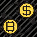 and, bitcoin, coin, loop, us