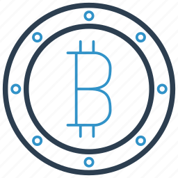 bitcoin, cryptocurrency icon
