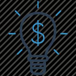 bulb, creative, creativity, idea icon