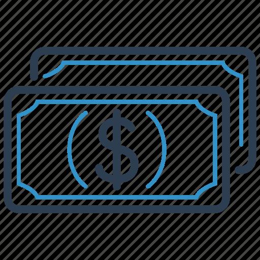 cash, dollar, finance icon