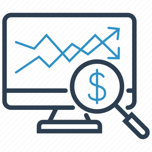 financial, price, profit, stock icon