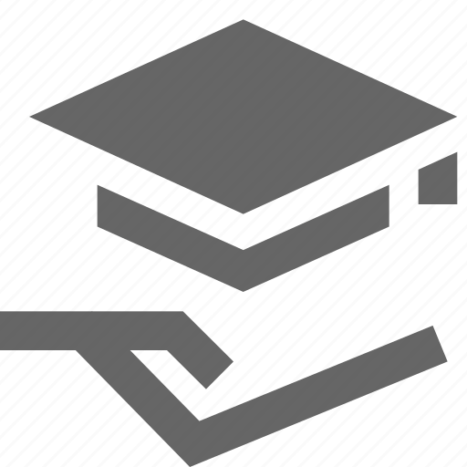 care, degree, education, loan, mortarboard, receive, support icon