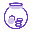 bank, coin, credit, finance, financial, investation, money icon
