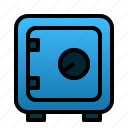 box, business, finance, money, safe, safety, security icon