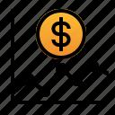 analytics, dollar, financial, graph, money, stats