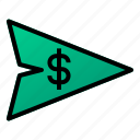 bank, business, finance, money, send, transfer