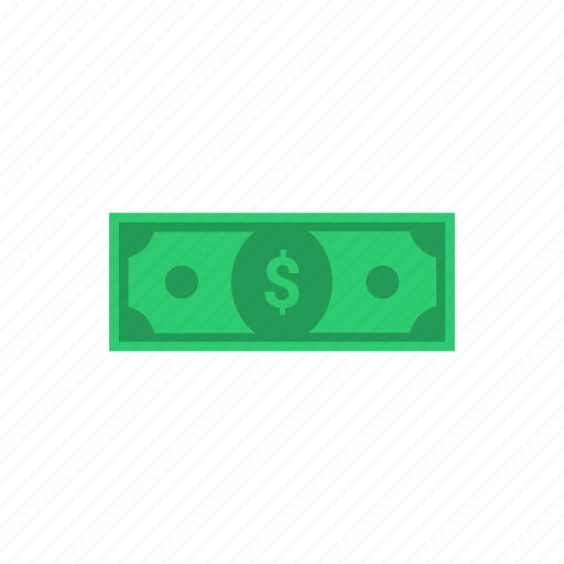 bank, banknote, cash, currency, dollar, finance, note, payment icon