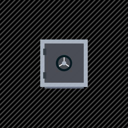 box, money, safe, safe-deposit box, security, strongbox, vault icon