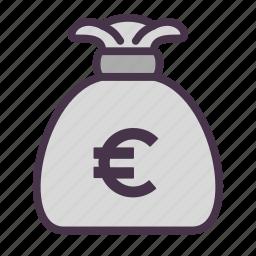 cash, euro, finance, financial, money icon