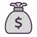 cash, dollar, finance, financial, money icon
