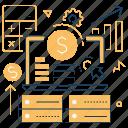 calculation, finance, income, money