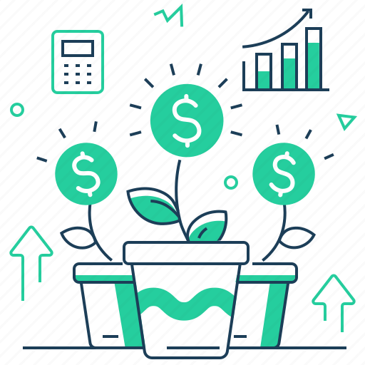 Analytics, financial, growth, investments icon - Download on Iconfinder