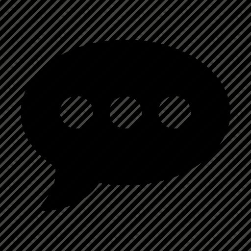 bubble, chat, comment, conversation, dialog icon