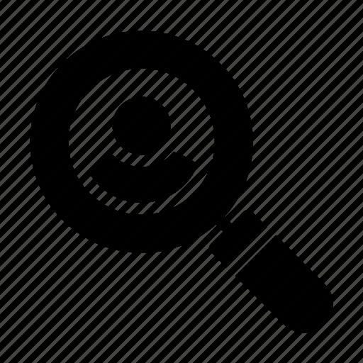 account, hiring, profile, search, user icon