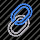 attach, chain, hyperlink, link, url icon