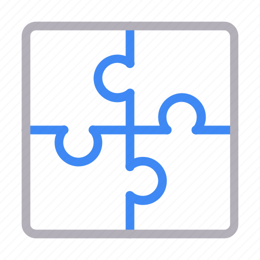 game, jigsaw, puzzle, solution, strategy icon
