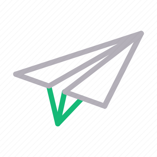 email, message, navigation, paperplane, send icon