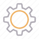 cogwheel, configure, management, preference, setting icon