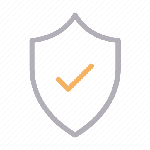 check, protection, secure, shield, verified icon