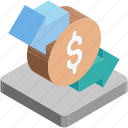currency exchange, dollar, money conversion, money exchange, value icon