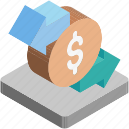 currency exchange, dollar, money conversion, money exchange, value icon