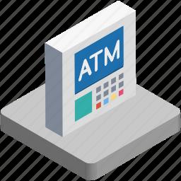 atm, atm machine, banking, cash line, cash point icon