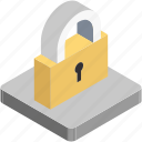 lock, padlock, privacy, protection, safe icon