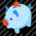 piggy, bank, coin, savings